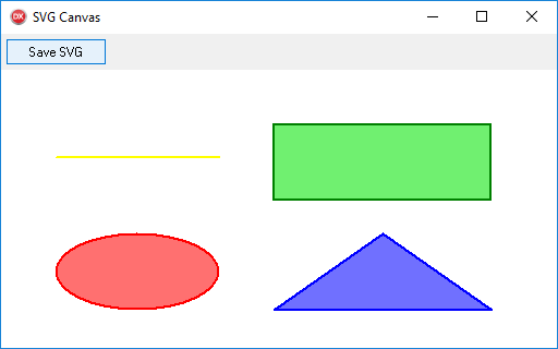 SVG Canvas example